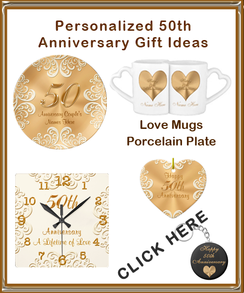 Wedding anniversary gifts traditional 50th wedding for Present for 50th wedding anniversary