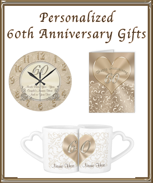 60th Wedding Anniversary Gift Ideas