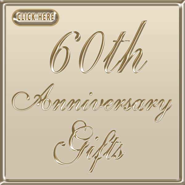 Personalized 60th wedding anniversary gift ideas for 60 wedding anniversary symbol