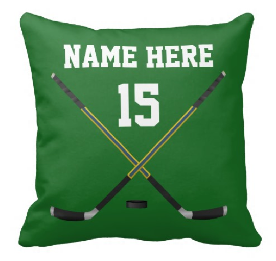 Hockey Bedroom Decor and Hockey Gifts