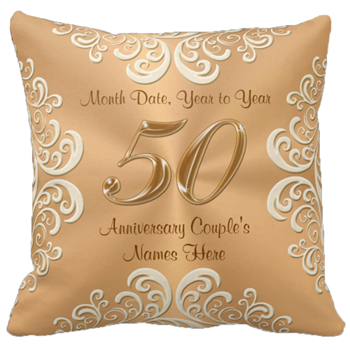 Traditional 50th Wedding Anniversary Gifts For Pas